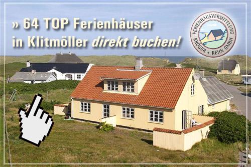 Ferienhäuser in Klitmöller buchen bei dansk.de